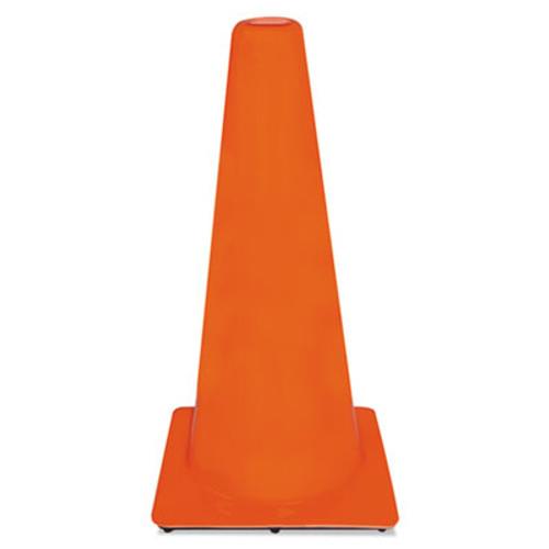 3M Non-Reflective Safety Cone, 13 x 13 x 28, Orange (MMM9012900006)