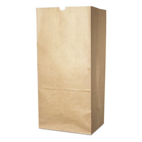 Duro Bag Lawn/Leaf Self-Standing Bags, 30 gal, 16 x 12 x 35, Kraft Brown, 50/Carton (DRO13818)