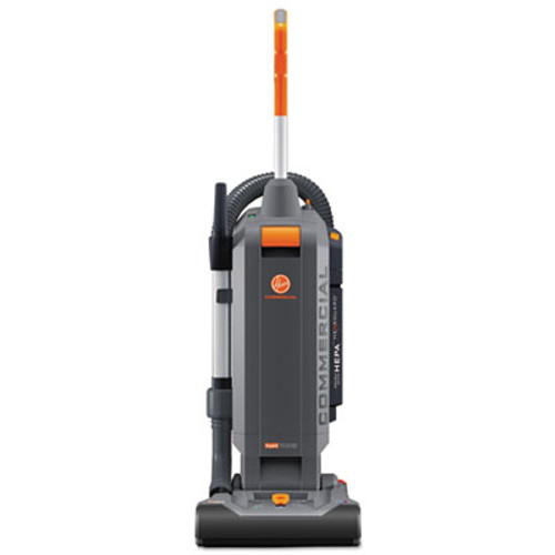 "Hoover HushTone Vacuum Cleaner with Intellibelt, 13"", Orange/Gray (HVRCH54113)"