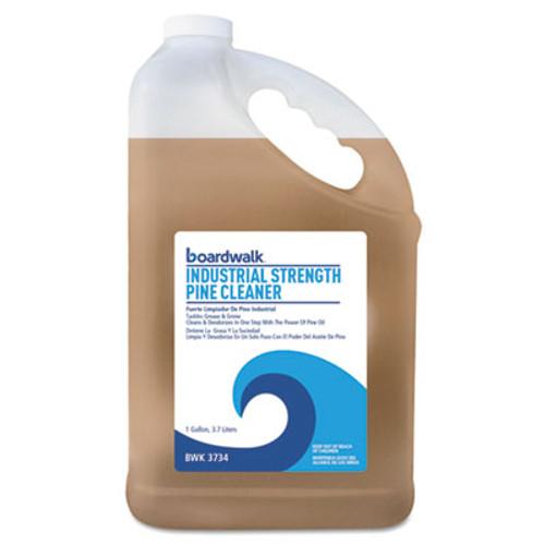 Boardwalk Industrial Strength Pine Cleaner, 1 Gallon Bottle, 4/Carton (BWK3734)