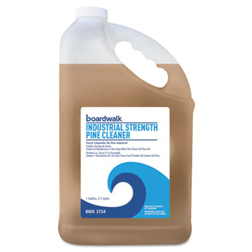 Boardwalk Industrial Strength Pine Cleaner, 1 Gallon Bottle, 4/Carton (BWK3734)