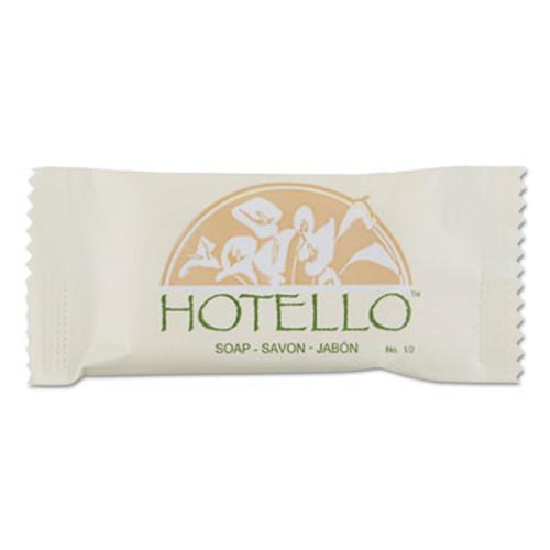 Hotello Bar Soap, # 1/2, Individually Wrapped, 1000/Carton (DIA300050A)