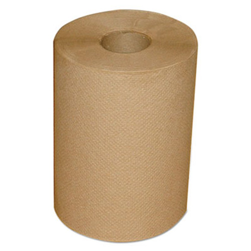 """Morcon Paper Hardwound Roll Towels, 7 7/8"""" x 300 ft, Brown, 12/Carton (MOR12300R)"""