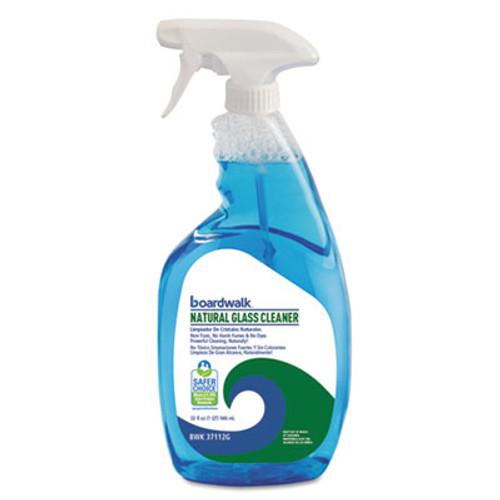 Boardwalk Natural Glass Cleaner, 32 oz Trigger Bottle, 12/Carton (BWK37112G)