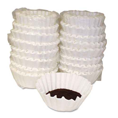 Melitta Coffee Filters, Paper, Basket Style, 12 to 15 Cups, 800/Carton (MLA620014)