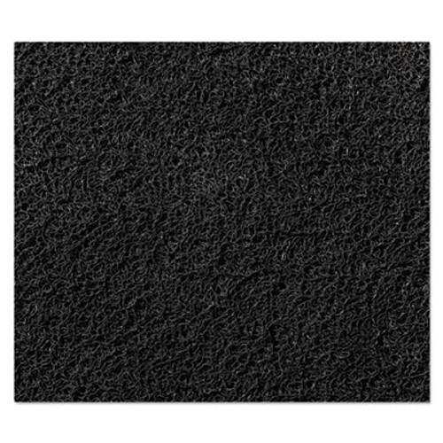 3M Nomad 8100 Unbacked Scraper Matting, Vinyl, 36 x 240, Black (MMM8100320BL)