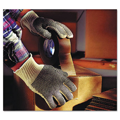 AnsellPro MultiKnit Dotted Lightweight Gloves, Small, Gray, 144 Pairs (ANS761027CT)