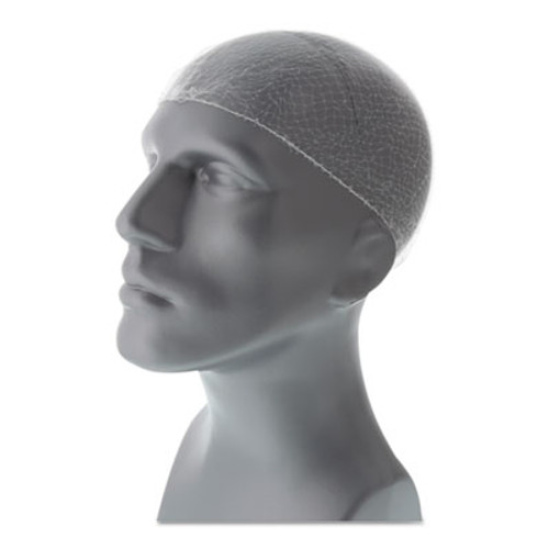 Royal Lightweight Latex-Free Hairnets, White, 28 in., Nylon, 144/Box (RPPRPH144LT28PK)