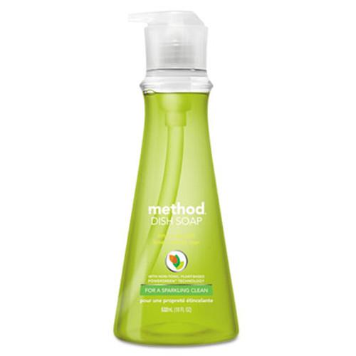 Method Dish Soap, Lime & Sea Salt, 18 oz Pump Bottle (MTH01240EA)
