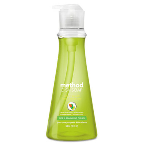 Method Dish Soap, Lime & Sea Salt, 18 oz Pump Bottle (MTH01240EA)