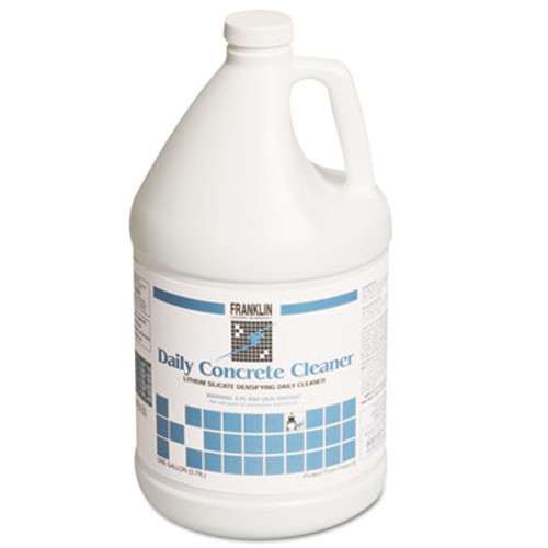 Franklin Cleaning Technology Daily Concrete Cleaner, 1 gal Bottle, 4/Carton (FKLF281022)