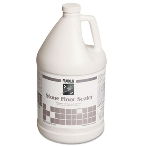 Franklin Cleaning Technology Stone Floor Sealer, 1 gal Bottle, 4/Carton (FKLF291022)