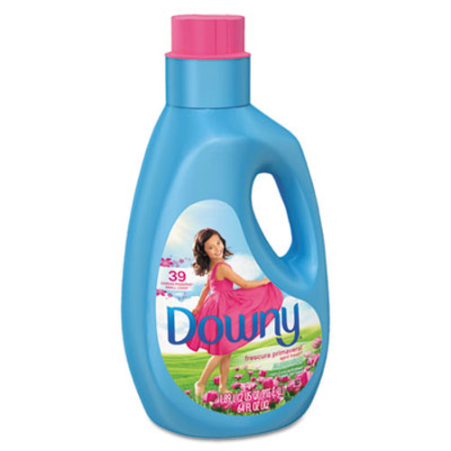Downy Liquid Fabric Softener, April Fresh, 64oz Bottle (PGC89672)