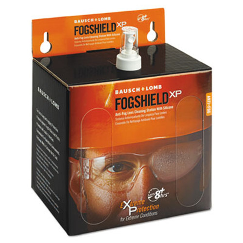 Bausch & Lomb Sight Savers FogShield Disposable Lens Cleaning Station, 12 oz Bottle, 1425 Tissues (BAL8577)