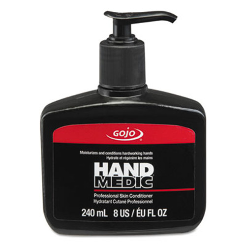 GOJO HAND MEDIC Professional Skin Conditioner, 8 oz Pump Bottle, 6/Carton (GOJ814506)