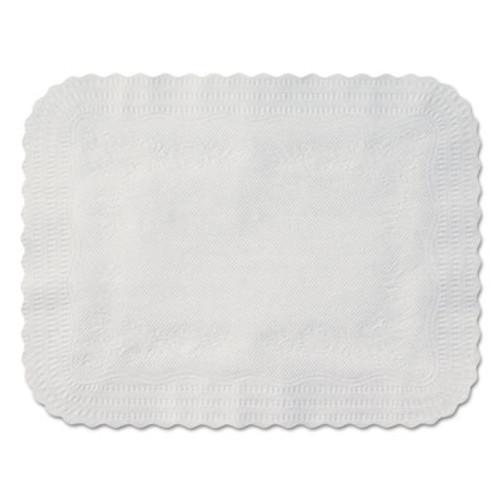 Hoffmaster Scalloped Edge Traymat, Bond Paper, White, 19 1/8 x 14, 1000/Carton (HFM410202)