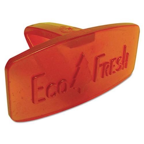 Boardwalk Bowl Clip, Mango Scent, Orange, 12/Box (BWKCLIPMAN)