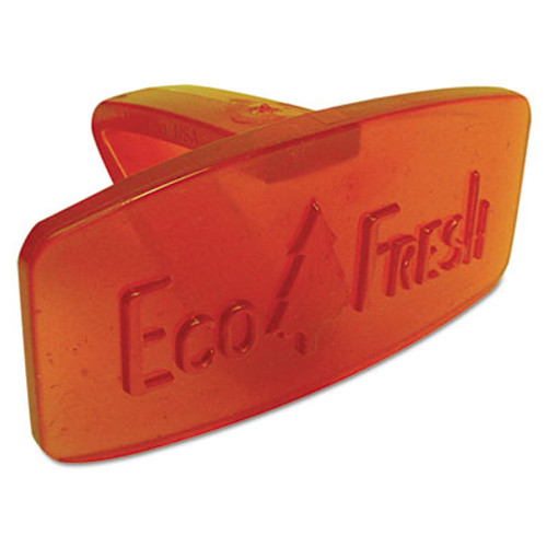 Boardwalk Bowl Clip, Mango Scent, Orange, 12/Box (BWKCLIPMAN)