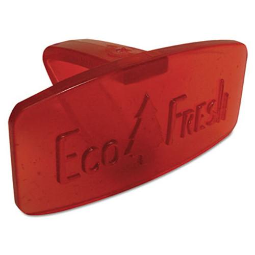 Boardwalk Bowl Clip, Spiced Apple Scent, Red, 12/Box (BWKCLIPSAP)