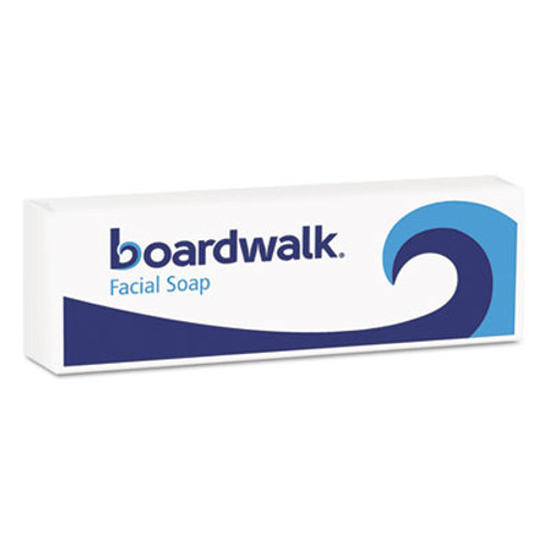 Boardwalk Face and Body Soap, Flow Wrapped, Floral Fragrance, # 1/2 Bar, 1000/Carton (BWKNO12SOAP)