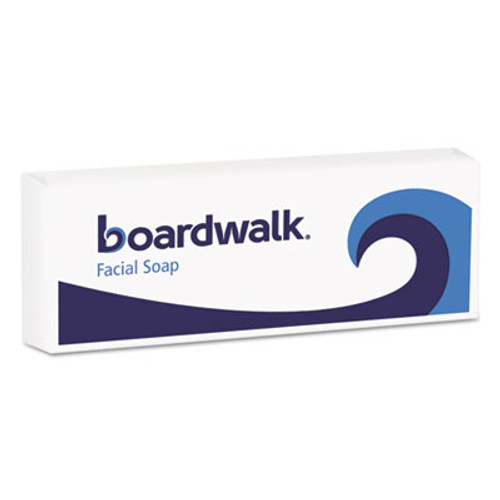 Boardwalk Face and Body Soap, Flow Wrapped, Floral Fragrance, # 3/4 Bar, 1000/Carton (BWKNO34SOAP)