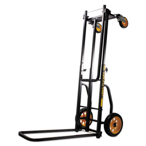 Advantus Multi-Cart 8-in-1 Cart, 500lb Capacity, 32 1/2 x 17 1/2 x 42 1/2, Black (AVT86201)