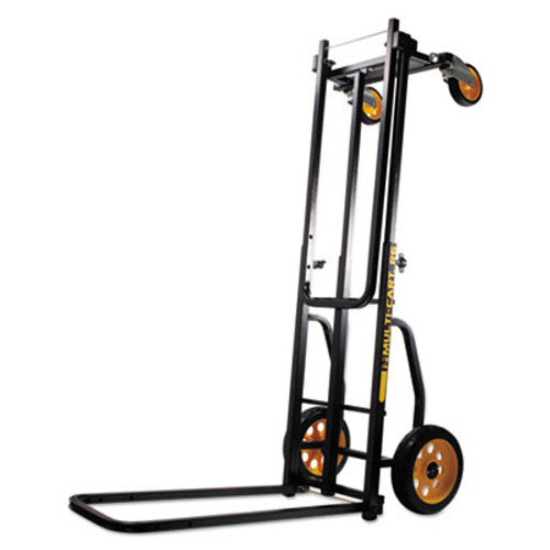 Advantus Multi-Cart 8-in-1 Cart, 500lb Capacity, 32 1/2 x 17 1/2 x 42 1/2, Black (AVT86201)