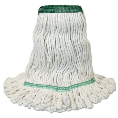 Boardwalk Mop Head, Premium Standard Head, Cotton/Rayon Fiber, Medium, White (BWK502WHNB)