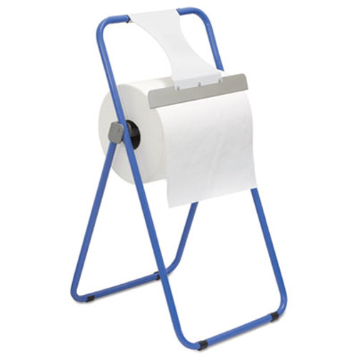 Boardwalk Jumbo Roll Dispenser, Floor Stand, Blue, 16 3/8 x 20 x 33, Steel (BWK680590)
