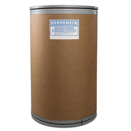 Boardwalk Wax Base Sweeping Compound, Granular, 150 lb Drum (BWK9150)
