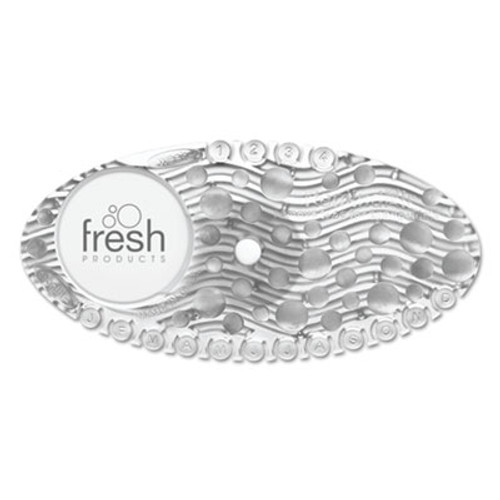 Boardwalk Curve Air Freshener, Mango, Clear, 10/Box (BWKCURVEMAN)