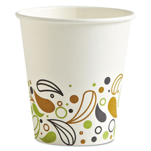 Boardwalk Deerfield Printed Paper Hot Cups, 10 oz, 50 Cups/Pack, 20 Packs/Carton (BWKDEER10HCUP)