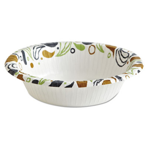 Boardwalk Deerfield Printed Paper Bowl, 12 oz, Coated/Soak Proof, 125 Bowls/Pack, 8 Pks/Ct (BWKDEER12BOWL)