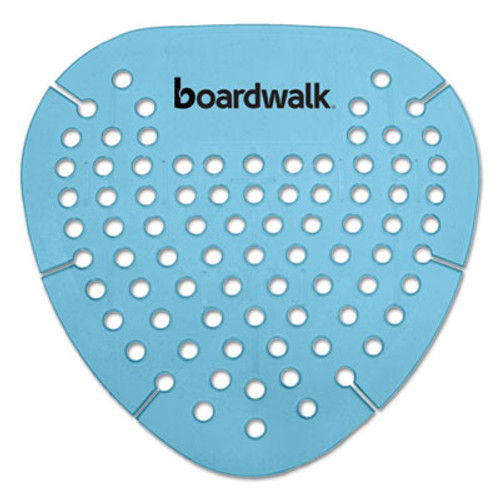 Boardwalk Gem Urinal Screen, Lasts 30 Days, Blue, Cotton Blossom Fragrance, 12/Box (BWKGEMCBL)
