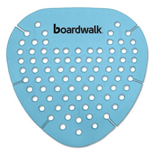 Boardwalk Gem Urinal Screen, Lasts 30 Days, Blue, Cotton Blossom Fragrance, 12/Box (BWKGEMCBL)