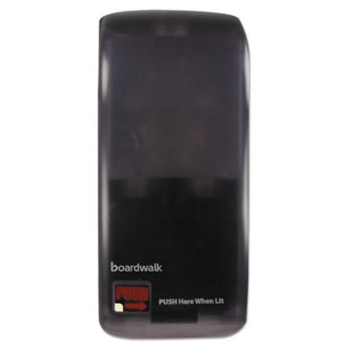 "Boardwalk Rely Hybrid Liquid Soap & Hand Sanitizer Dispenser, 900mL, Black, 12""x5.5""x4"" (BWKSH900SBBW)"