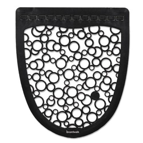 Boardwalk Urinal Mat 2.0, Rubber, 17 1/2 x 20, Black/White, 6/Carton (BWKUMBW)
