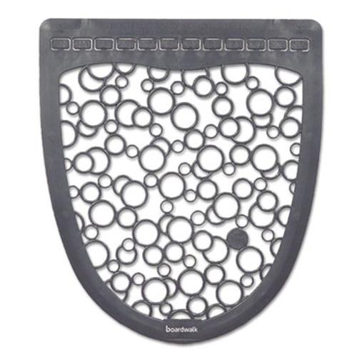 Boardwalk Urinal Mat 2.0, Rubber, 17 1/2 x 20, Gray/White, 6/Carton (BWKUMGW)
