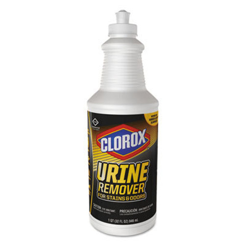 Clorox Urine Remover for Stains and Odors, 32 oz Pull top Bottle (CLO31415EA)