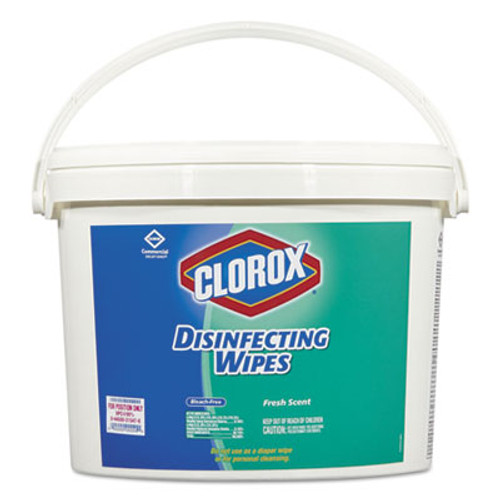 Clorox Disinfecting Wipes, 7 x 8, Fresh Scent, 700/Bucket (CLO31547)