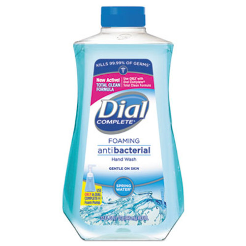 Dial Antibacterial Foaming Hand Wash, Spring Water Scent, 32 oz Bottle (DIA09026EA)