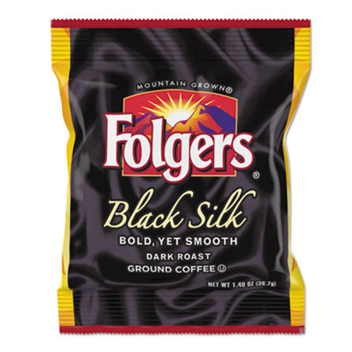 Folgers Coffee, Black Silk, 1.4 oz Packet, 42/Carton (FOL00019)