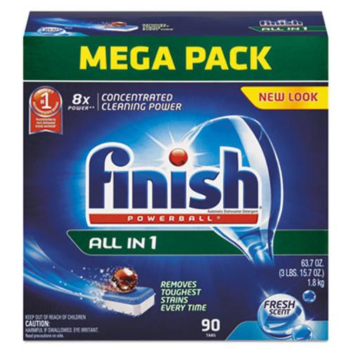 FINISH Powerball Dishwasher Tabs, Fresh Scent, 85/Box (FSH89729)
