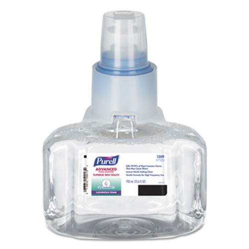 PURELL Advanced Hand Sanitizer Ultra Nourishing Foam, 700 mL Refill, 3/Carton (GOJ130903CT)