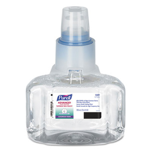 PURELL Advanced Hand Sanitizer Ultra Nourishing Foam, 700 mL Refill (GOJ130903EA)