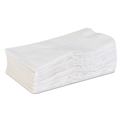 Georgia Pacific acclaim Dinner Napkins, 1-Ply, White, 15 x 17, 200/Pack, 16 Pack/Carton (GPC31577)