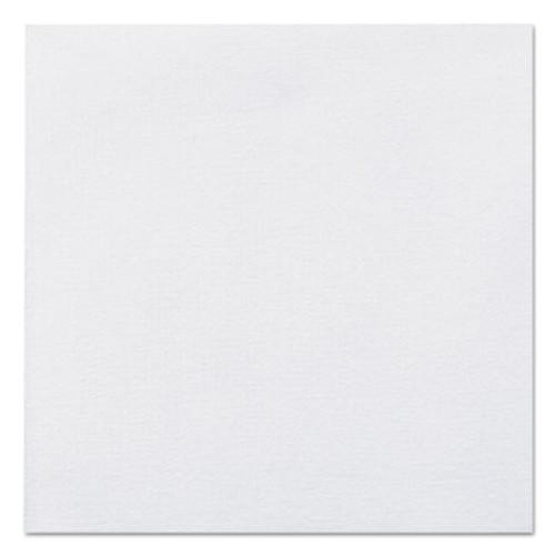 Hoffmaster Linen-Like Beverage Napkins, 1-Ply, 10 x 10, White, 125/Pack, 8 Packs/Carton (HFM046118)