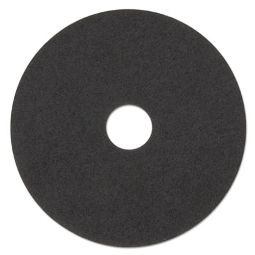 "3M Low-Speed Stripper Floor Pad 7200, 23"" Diameter, Black, 5/Carton (MMM08385)"