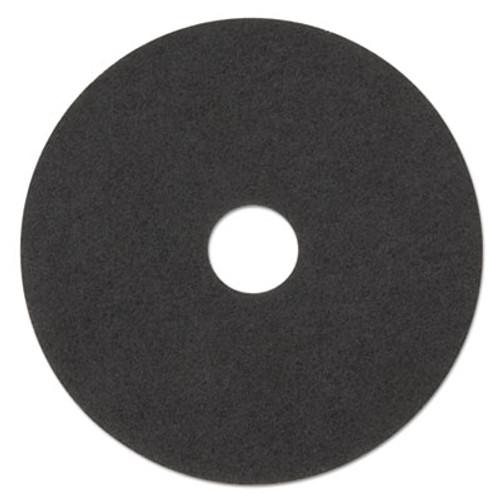 "3M Low-Speed Stripper Floor Pad 7200, 23"" Diameter, Black, 5/Carton (MMM08385)"