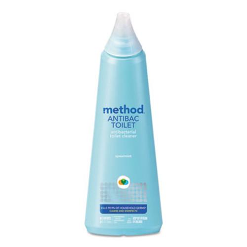 Method Antibacterial Toilet Cleaner, Spearmint, 24 oz Bottle, 6/Carton (MTH01221CT)